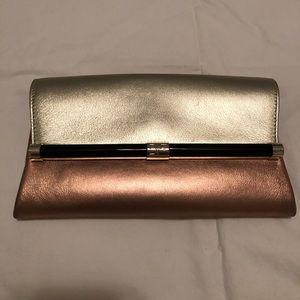 Diane Von Furstenberg Leather Clutch